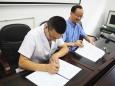 市五医院签约第100家医联体成员