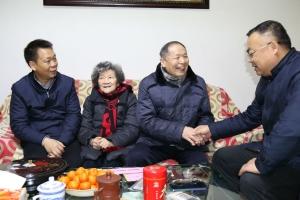 市五医院开展春节系列慰问活动