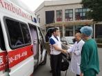 市五医院成功抢救一例台湾籍高原心梗患者