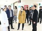 成都市卫健委巡视员郭萍一行到最正规的网赌网站检查2019年卫生健康工作